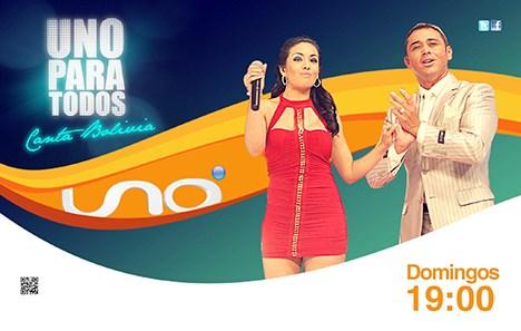 Uno para todos, Canta Bolivia es una mega producción para los domingos a la noche