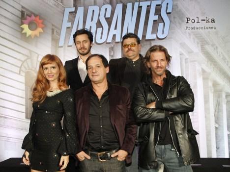 Vicuña, Casero, Siciliani, Chávez y Arana, los protagonistas de Farsantes