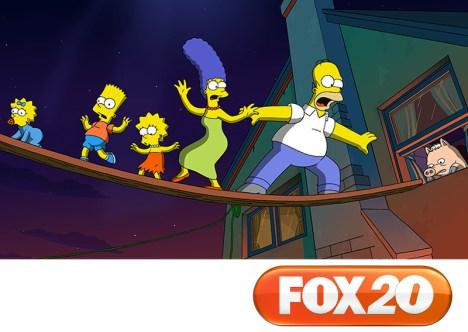 Fox 20 años Los Simpson