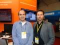 Mariano Cuerda, de iPlusB, y Francisco Monje, de FilmLight