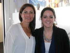 Valerie Cabrera y Kara Ciccarelli