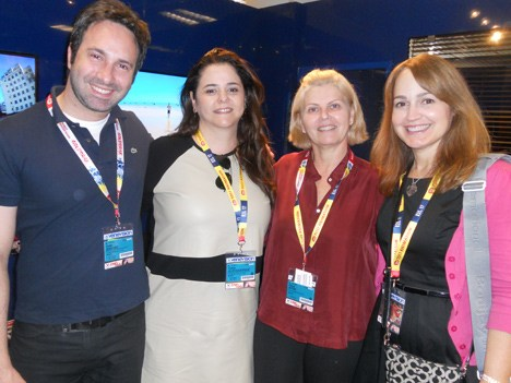 Beto Ribeiro, Albuquerque, Ayub e Isabel Quintero