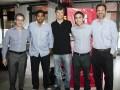 Gonzalo Fonseca (Havas Media Group), Valli Lashkmanan, Mario Pergolini, Mariano Filarent y Ramiro Castillo (ambos de Havas Media Group)