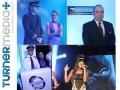 Juan Carlos Urdaneta, Sabrina Parlatore y Fabio Rabin participaron del UpFront, que simuló un viaje aéreo comandado por el equipo de ventas publicitarias de Turner Brasil