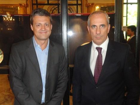 ESPN UpFront 14 Eduardo Mandía de Nuevo Siglo de Uruguay y Luis Lisanti de Alvear Palace
