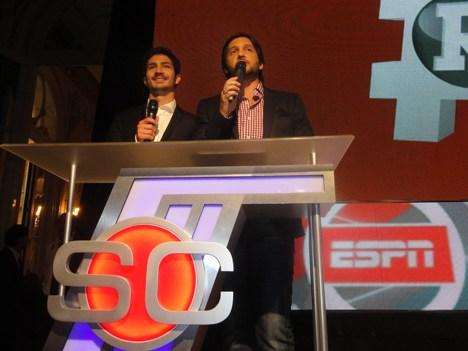 ESPN UpFront 14 El Chino Darín presenta, junto a Germán Pavlovsky, el nuevo ciclo ESPN Redes